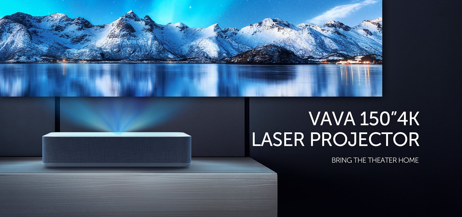 vava 4k ultra short throw laser projector