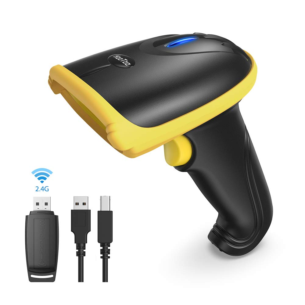 2.4Ghz Wireless Barcode Scanner HT-BS031